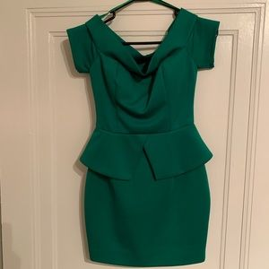 Arden B Green Mini Dress